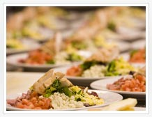 Menus and catering